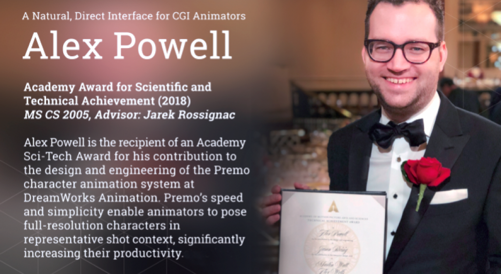 Alex Powell wins an Oscar
