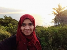 Unaiza Ahsan traveled to Hawaii in January 2019 to present her paper at the Winter Applications of Computer Vision (WACV) conference.
