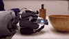 Robot Classifies Materials of Household Objects Using 'Light-Reading' Device
